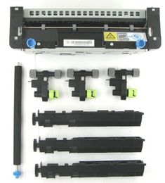 40X8420 Fuser Maintenance Kit rp mx710 ms810 mx711 ms811 mx812 mx810 ms810dn ms810dtn ms810de ms811dn ms811dtn mx710dhe mx711dhe mx711dthe  Replace when printer displays: 80 REPLACE MAINTENANCE KIT or 81 REPLACE ROLLER KIT. Contains: Fuser, 3 pickup rollers, 3 separation rollers, 1 transfer roller.