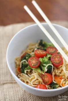 Good Eats: 7 No-Cook Dorm Friendly Meals {updated, healthy ramen}