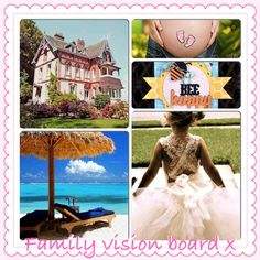 Family vision board x