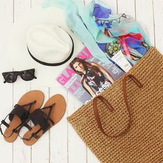 Packing for a weekend beach getaway. More style inspiration on our #JoeFresh Instagram.