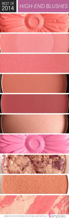 Top 10 of 2014: Best Blushes (High-End)