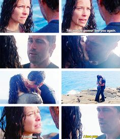 """Kate, you've gotta go."" :( Loved this scene!"
