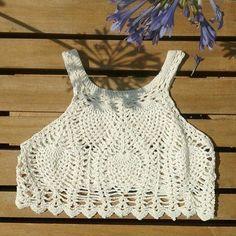 Inspirações de Croche com Any Lucy: Top