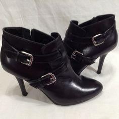 80f4c938e Lauren Ralph Lauren Lorelei Women US 6 B M Black Ankle Boot Stiletto 4