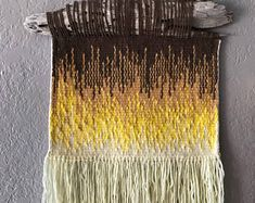 Image result for gradient weaving wall  hanging