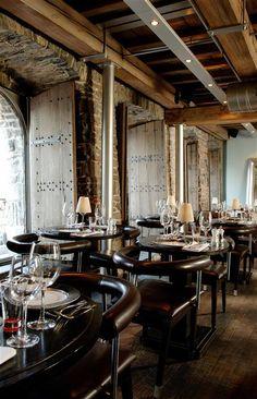 Belga Queen in Gent. Geweldig restaurant. Prachtig interieur.
