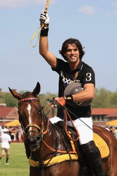 Nacho Figueras, it was great to see him play at #Santa Barbara Polo Club.