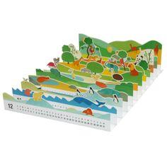 2012 free printable calendar, kids
