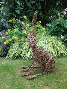 Popular Collection Willow Garden Sculptures Best 43 Best Willow Sculpture Images On Willow Garden Whimsy, Garden Deco, Garden Art, Willow Garden, Garden In The Woods, Sculpture Images, Sculpture Art, Garden Sculptures, Willow Weaving