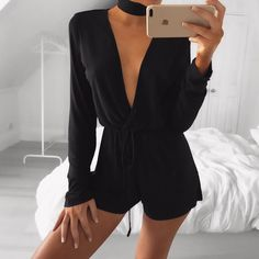 Jet Jersey Playsuit | #saboskirt  That Playsuit you need for those nights you don't know what to wear! @em.spiliopoulos