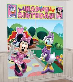 Minnie Mouse Daisy Duck Minnies Boutique Clubhouse Decoration Birthday Party