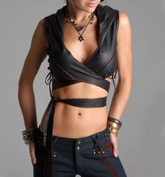 Buddhaful Leather Elvan Wrap from Delicious Boutique