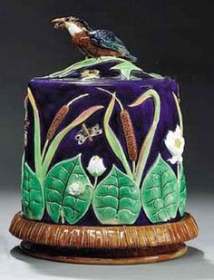 Glazed and Confused: English, American & Continental Victorian Majolica: George Jones Cheese Domes