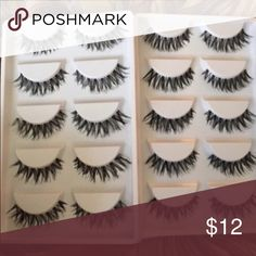 20 Pairs of False Lashes💕 5⭐️Rated Product!! NWT! A great fit for Crescent, almond, and exotic shaped eyes. Not MAC but highly recommended if you 💕MAC MAC Cosmetics Makeup False Eyelashes