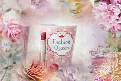 are you a FashionQueen?  then, this cup by Krasilnikoff should be in your wishing list ;)