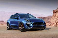 """Российское тюнинг-ателье переделало Porsche Macan в """"Медведицу"""" http://carstarnews.com/porsche/macan/201419366"""