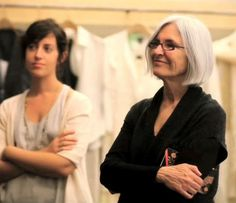 Eileen Fisher  is noted for making sustainable apparel.  Forces of Change: 10 Women CEOs We Admire | EcoSalon | Conscious Culture and Fashion