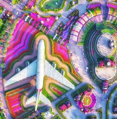 These Drone Images Will Change the Way You See the World | WorldTravelling Coron, Drones, Dubai Garden, Miracle Garden, See World, Dubai Travel, Aerial View, Organic Gardening, Night Life