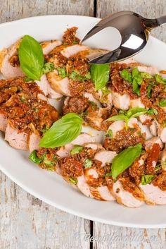 Flaskfile Med Italiensk Marinad Recept I 2020 Pastasallad