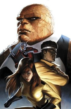 Fantastic Four - by Marko Djurdjevic | #comics