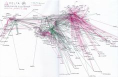 Singapore Worldwide Route Map As Of Source Httpnews - Delta route maps