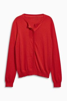 Buy Crew Neck Cardigan from the Next UK online shop 1c4d3808e2fe
