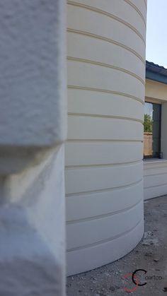 Proiect Casa Rezidentiala Corbeanca 2 – Profile Decorative Building Facade, Cute Illustration, Exterior, Vase, Facades, Design, Home Decor, Decoration Home, Room Decor