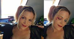 Harley Quinn natural makeup