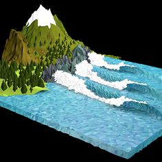 Surf Art 3D - LowPoly 7