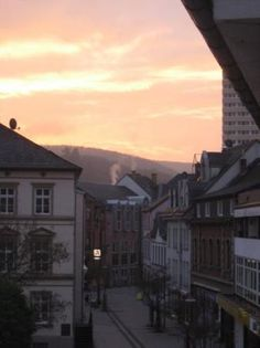 Idar-Oberstein, Germany.  One of my favorite places to run to to get away.