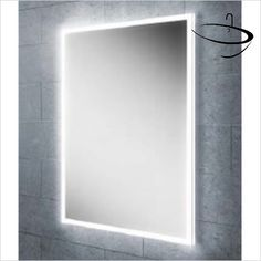 HIB Mirrors & Cabinets - Globe 50 Mirror 70 x 50 x Mirror Cabinets, Mirrors Uk, Bathroom Mirrors Uk, Ambient, Led, Bathroom Store, Bathroom Mirror, Elegant Mirrors, Mirror