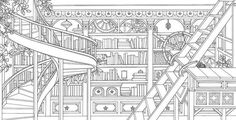 10 Intricate Adult Coloring Books to Help You De-Stress | Mental Floss