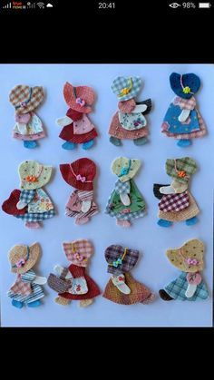 Hobbies And Crafts, Diy And Crafts, Crafts For Kids, Arts And Crafts, Felt Diy, Felt Crafts, Fabric Crafts, Denim Bag Patterns, Fabric Ornaments