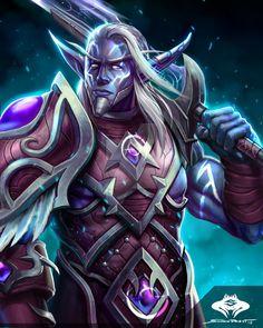 ...Nightborne Warrior... by ShadowPriest on DeviantArt