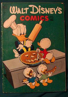 Vintage Disney Halloween Comic