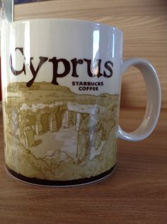 Cyprus Starbucks City Mug