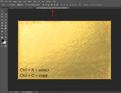 Create Gold Foil Text in Photoshop