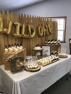 Where the Wild Things Are - Dessert Table - Cupcakes-Birthday Party - Smores on a Stick - Cupcake Toppers - A Wild One - Make Your Own Sundae Bar - Ice Cream