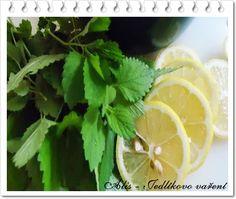 Jedlíkovo vaření: Domácí meduňkový sirup Korn, Parsley, Celery, Harvest, Herbs, Fruit, Vegetables, Cooking, Blog