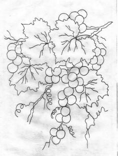Pintar pasillo a dos colores - Dibujos para colorear - IMAGIXS Tole Painting Patterns, Stencil Patterns, Pattern Art, Fruit Painting, China Painting, Fabric Painting, Colouring Pages, Coloring Books, Embroidery Stitches