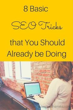 8 Basic SEO Tricks That You Should Already Be Doing by Paola Mendez of South… Marketing Website, Seo Marketing, Marketing Digital, Internet Marketing, Online Marketing, Content Marketing, Affiliate Marketing, Media Marketing, Google Bing