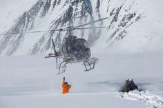 Heli Skiing with Points North Heli Adventures // Cordova, AK // www.alaskaheliski.com // Holly Shankland Photography // www.hollyshankland.com
