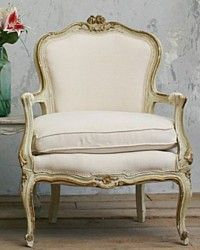 Pair Shabby Vintage Louis XV French Pale Green Gilt Armchairs-floral,cream,chairs,mint, gold, hand carved,wood,antique,furniture,rose,livingroom,