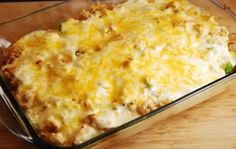 Skinny Points – Recipes  » Cheesy Chicken and Rice Casserole