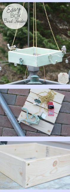 Easy to make and beautiful bird feeder