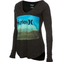 Amazon.com: Hurley Before The Storm Hooded T-Shirt - Long-Sleeve - Women's: Clothing