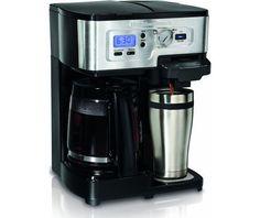 Hamilton Beach 2-Way FlexBrew Single Serve and 12-Cup Coffeemaker
