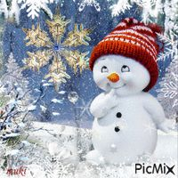 Winter Fantasy~ wish you were here sweet darling Vylette to really celebrate Christmas, to sing and play and open presents. Vintage Christmas Cards, Christmas Pictures, Diy Christmas Gifts, Christmas Snowman, Winter Christmas, Christmas Holidays, Merry Christmas, Christmas Decorations, Christmas Quotes