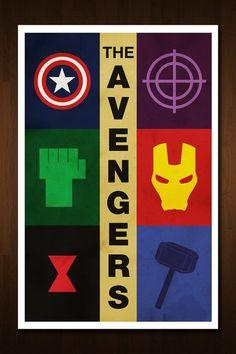 The Avengers Art Print Poster