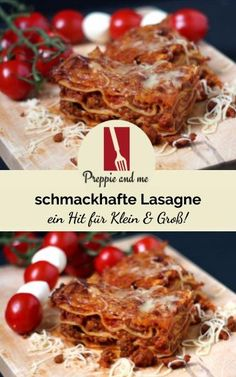 Lasagna - a hit for young and old! Krups Prep&cook, Childrens Meals, Mince Meat, Fat Foods, Christmas Breakfast, Group Meals, Fruits And Veggies, Main Meals, Tasty